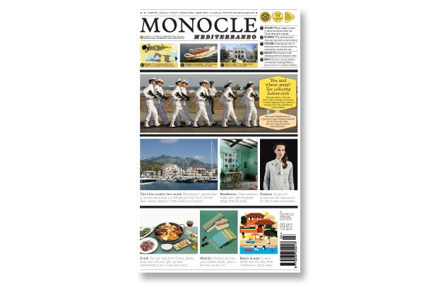 Monocle Mediterraneo 2011 Summer Issue 3