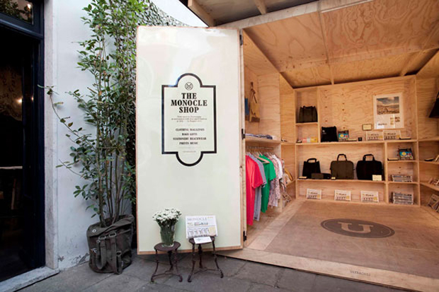 Monocle Tuscany Pop-Up Store