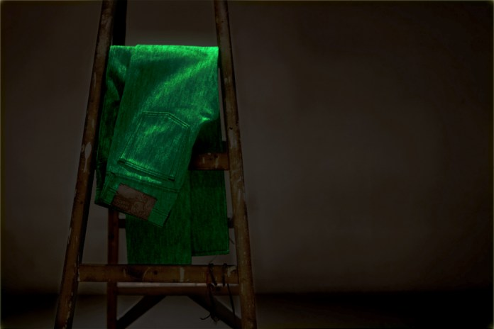 Naked & Famous Glow in the Dark Selvedge Denim