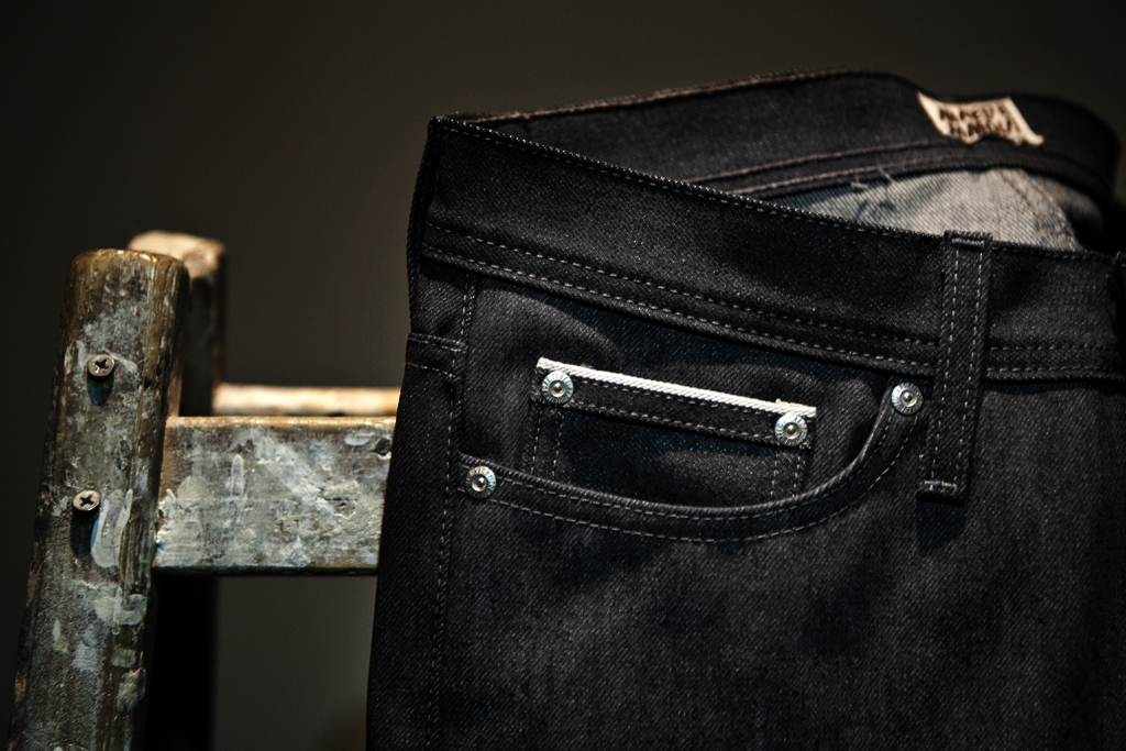 naked famous glow in the dark selvedge denim