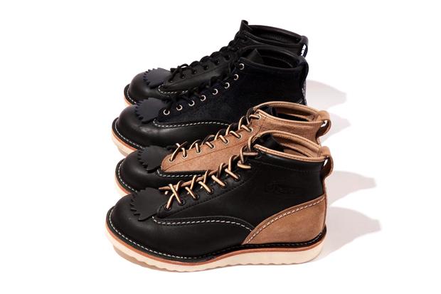 neighborhood x wesco job master boots