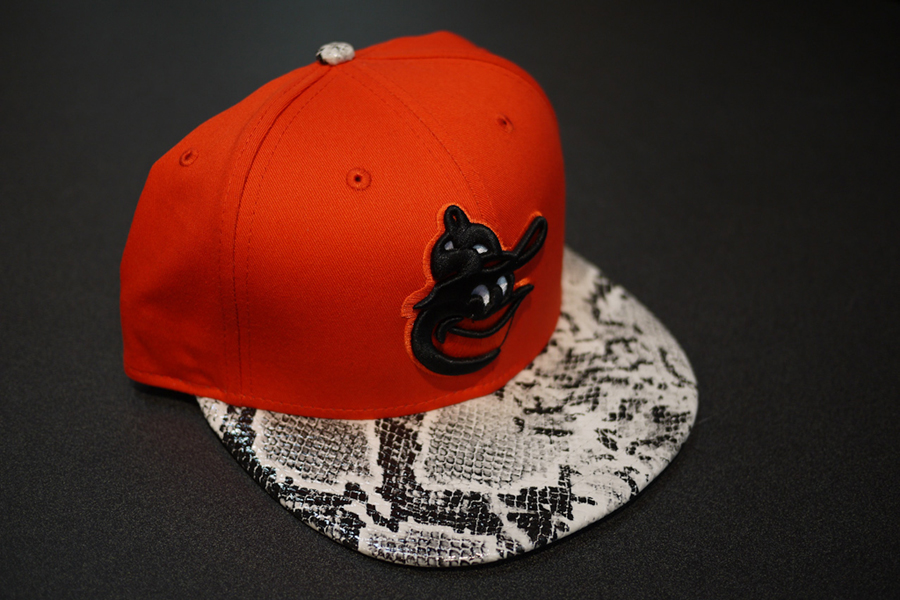 new era snake skin snapback preview slate