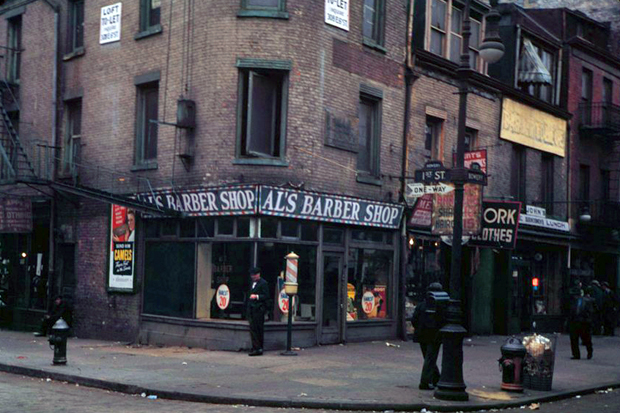 New York 1940s in Color