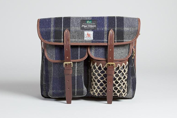 Nigel Cabourn x Fox Brothers x Brady Fishing Bag