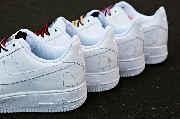 """Nike Air Force 1 NYC """"Boro"""" Collection"""