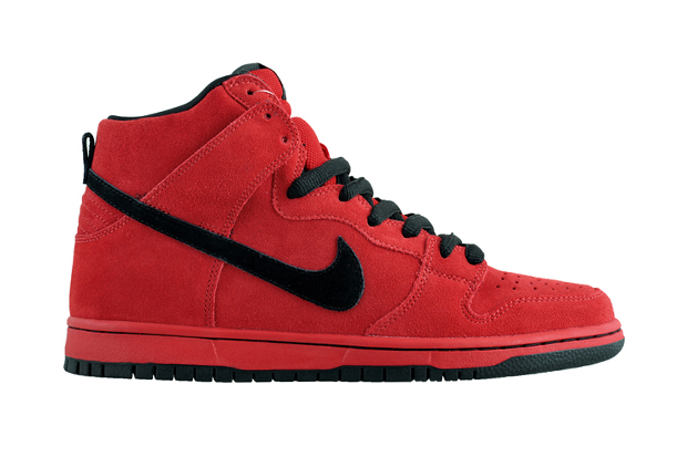 nike sb dunk high pro true red