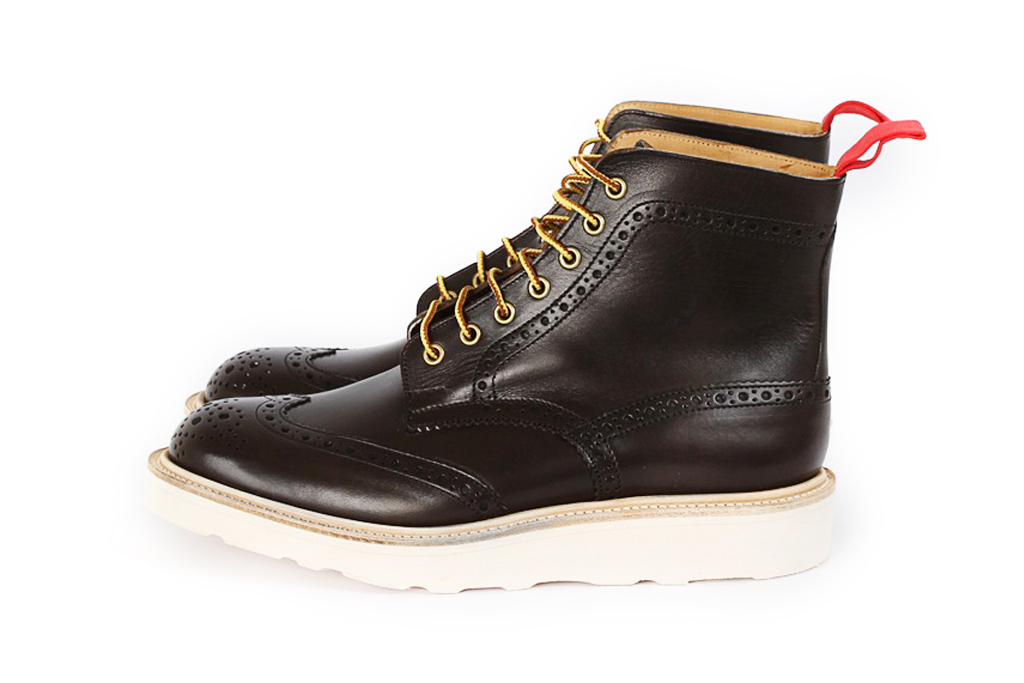 nitty gritty x trickers brogue boots