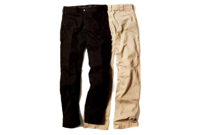 n(n) BY NUMBER (N)INE x Dickies Smart Fit Pants