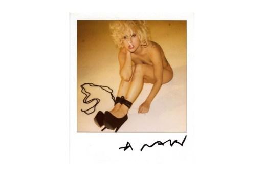 Lady Gaga x Nobuyoshi Araki Bondage Leaked Polaroids (NSFW)