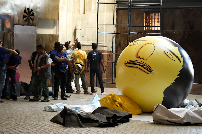 Os Gemeos for Brazil's Back2Black Festival
