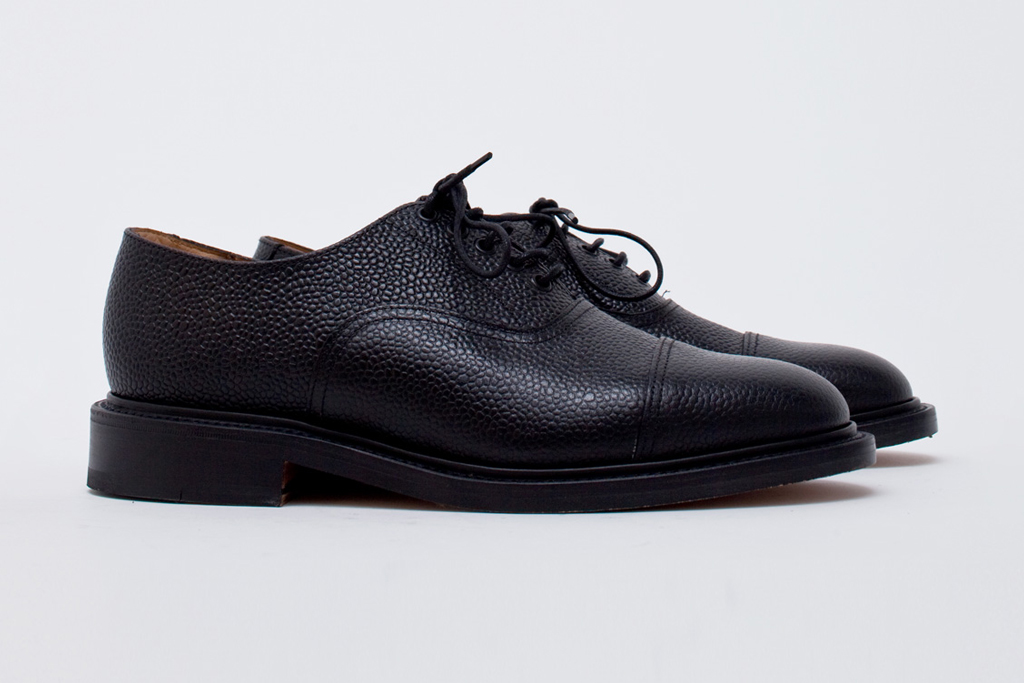 Our Legacy Cap Toe Black Grain TBS Exclusive