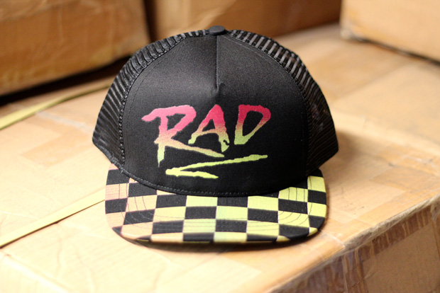 "BMX Gallery 4130 x Quintin Co. ""RAD"" 25th Anniversary Cap"
