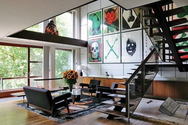 WSJ Presents Raf Simons' Home in Belgium