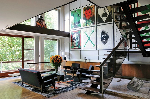 wsj presents raf simons home in belgium