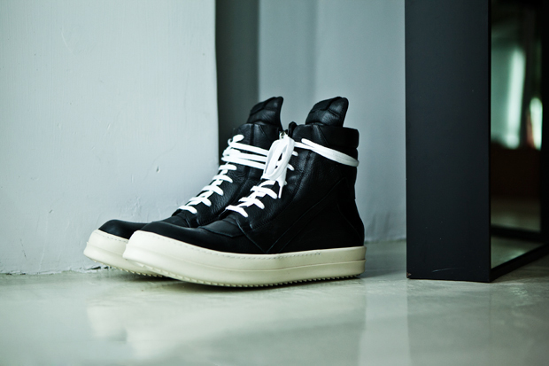 rick owens geobasket sneaker
