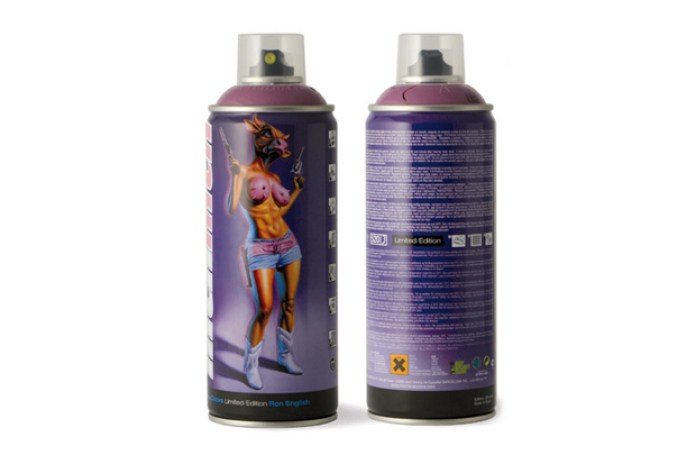 Ron English x MTN Limited Edition Spray Can
