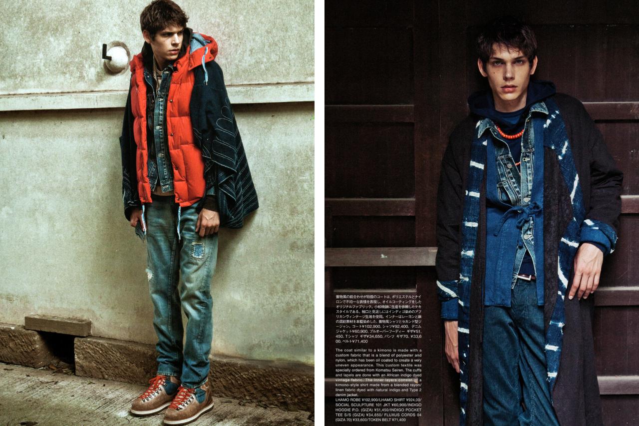 "SENSE Magazine ""TEXT in visvim"" Editorial"
