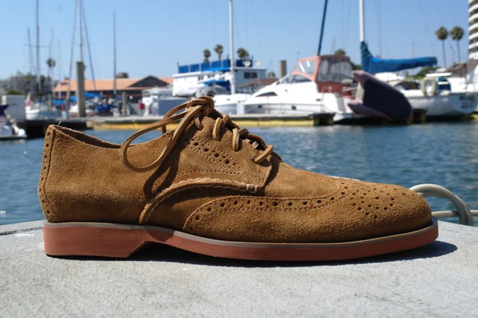 Sperry Top-Sider Boat Oxford Wing Tan Suede