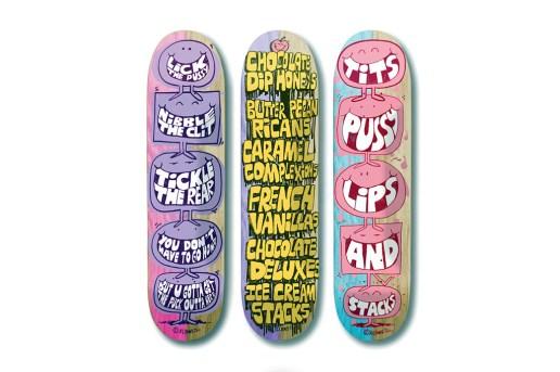 "Stacks ""Monster"" Skateboard Collection"