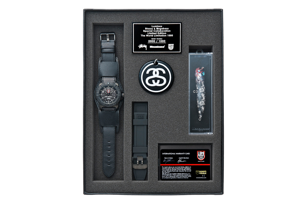 Stussy x Megabass x Luminox Collection