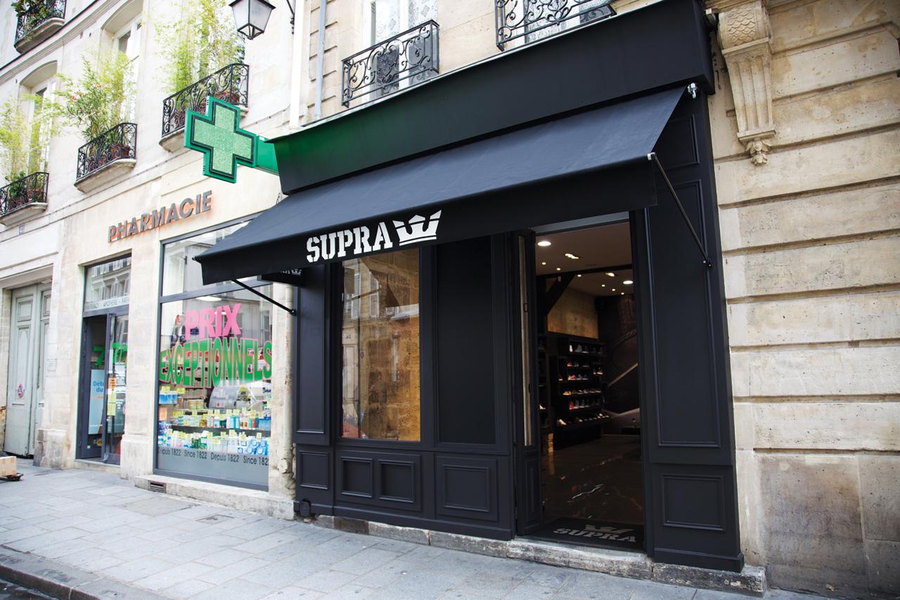 SUPRA Paris Store Opening