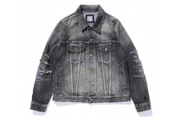 SWAGGER DAMAGE G-JYAN Denim Jacket