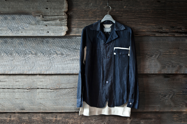 TAKAHIROMIYASHITA TheSololst. Wide Collar Shirt