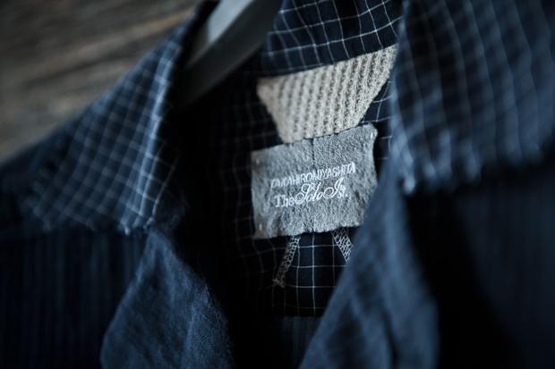 TAKAHIROMIYASHITA TheSololst. Wide Collar Shirt