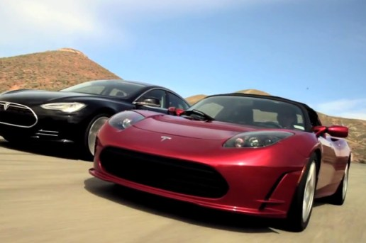 Tesla Model S and Roadster Video