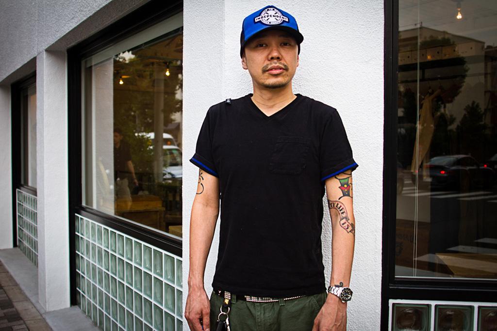 Streetsnaps: Tetsu Nishiyama