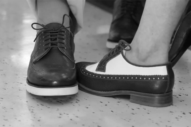 The Generic Man for COMME des GARCONS SHIRT 2011 Fall Video