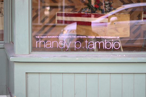 The Human Imagination Presents: The Art, Design and Photography of Rhandy P. Tambio