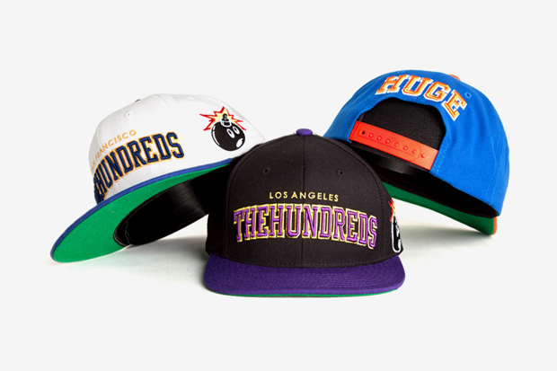 """The Hundreds 2011 Fall/Winter """"Player Hat"""" Snapback Collection"""