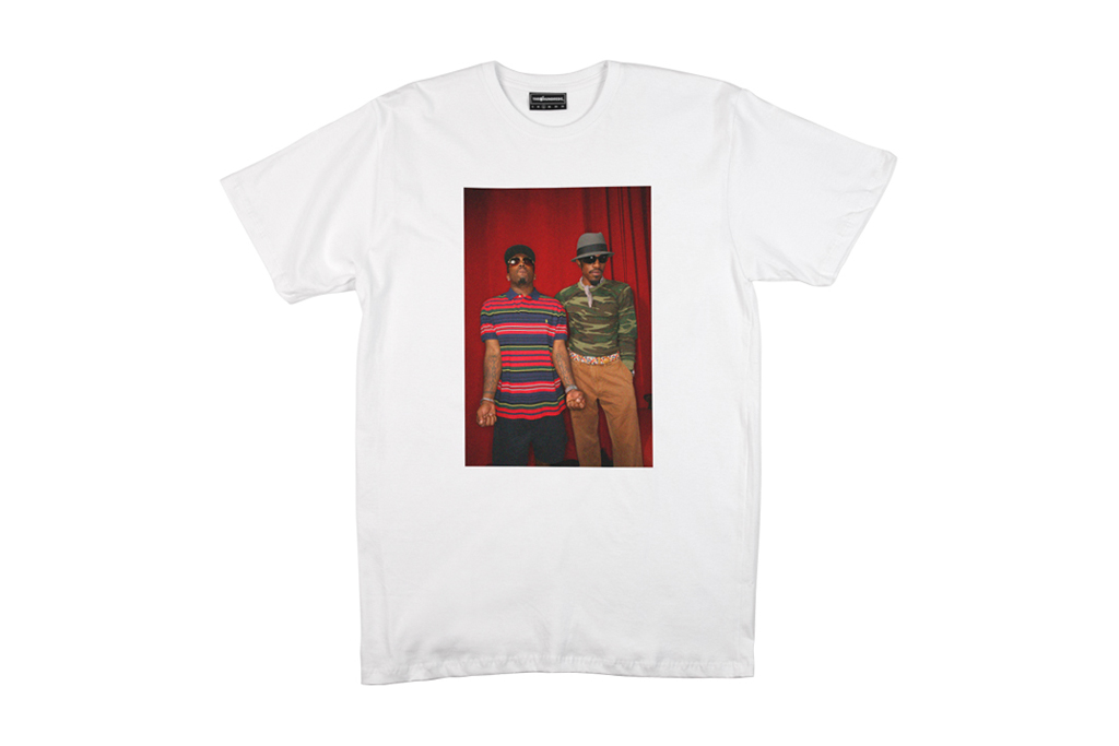 Zach Cordner x The Hundreds Photo T-Shirt Collection