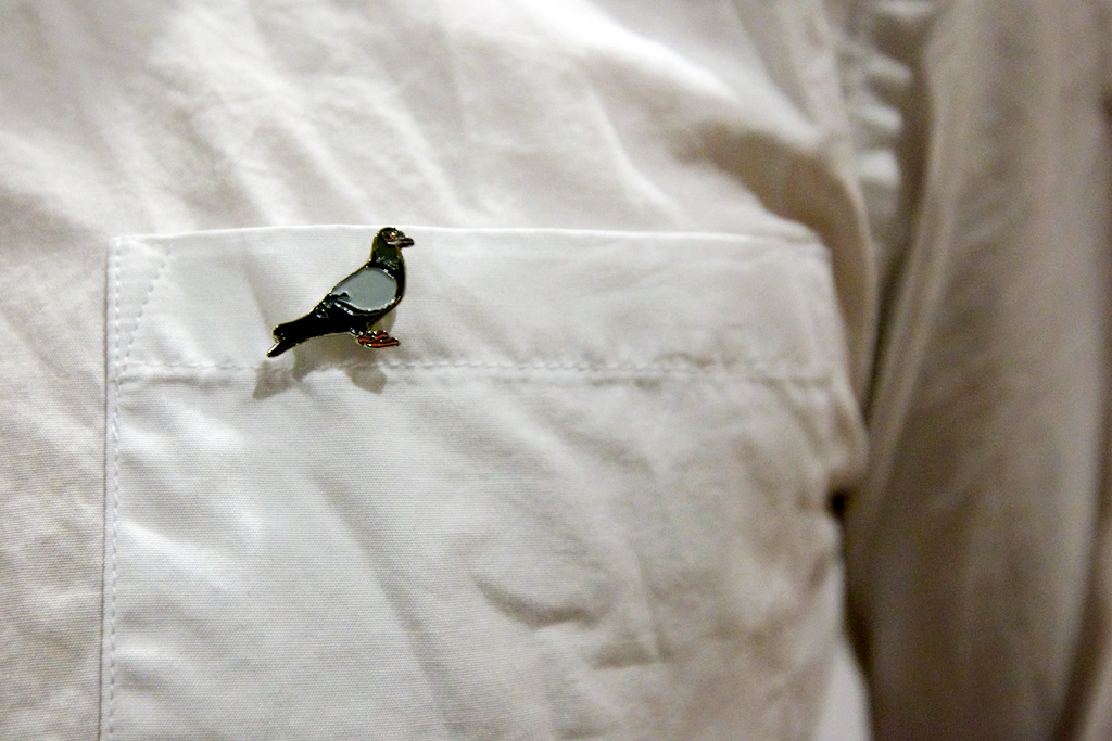 Streetsnaps: The Pigeon Has Landed