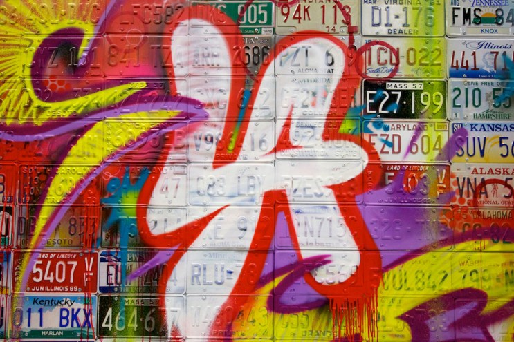 The Seventh Letter Crew Live Painting Session @ S.L.A.T.E.