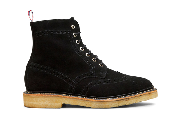 thom browne 2011 fallwinter suede boots