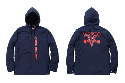 Thrasher x Supreme 2011 Fall/Winter Collaboration