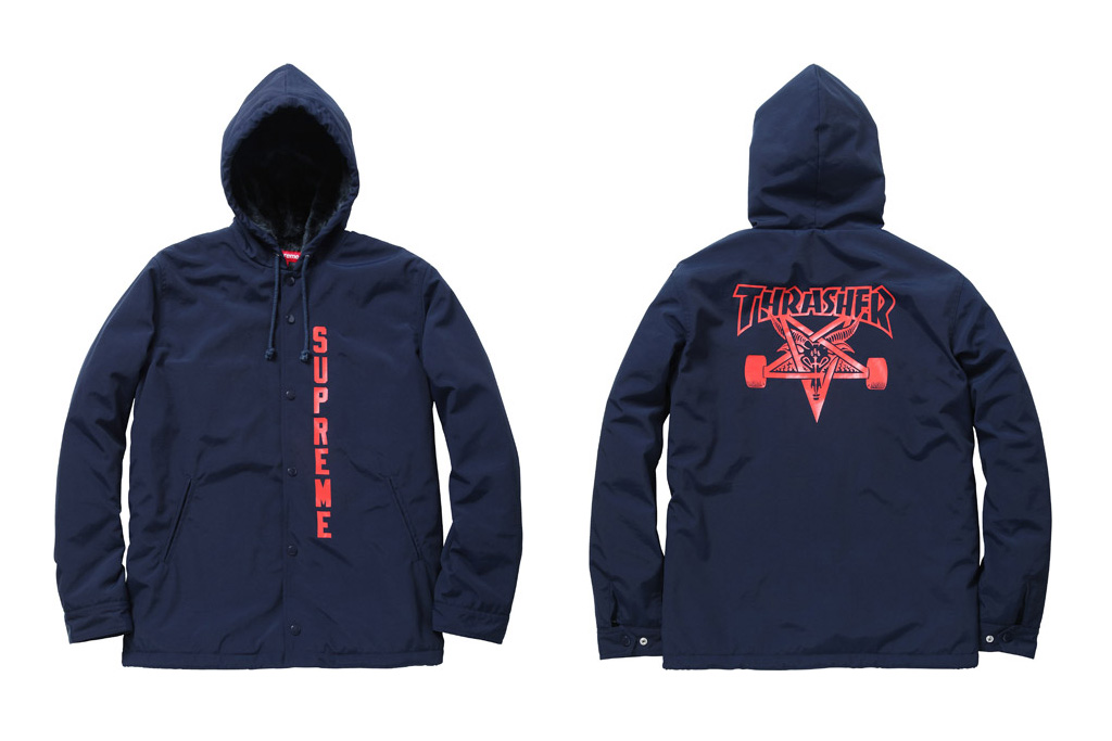 thrasher x supreme 2011 fallwinter collaboration