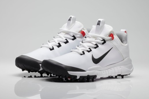 Tiger Woods x Nike Free Golf Shoe Prototype White