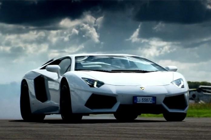 Top Gear on the Lamborghini Aventador