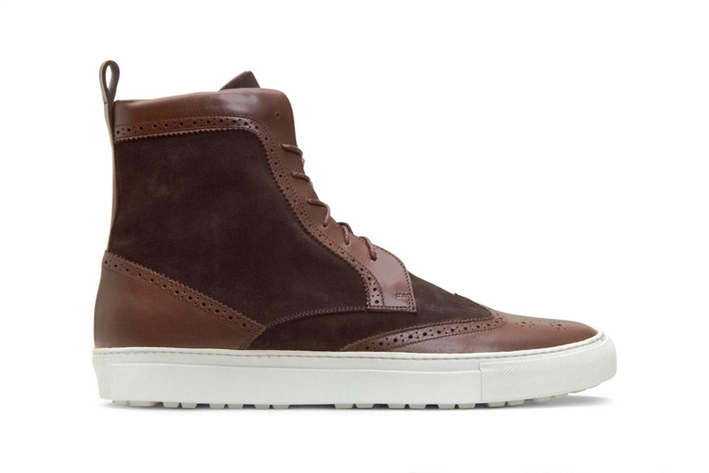 Trussardi 1911 2011 Fall/Winter Wingtip High-Top Sneaker