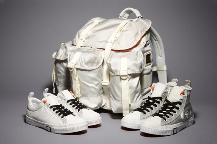 Undefeated x Converse Ballistic Capsule Line White Further Look