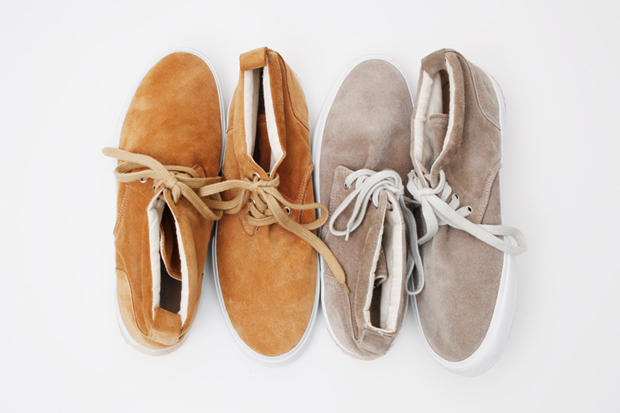 "Urban Research ""Ignition"" Suede Chukkas"