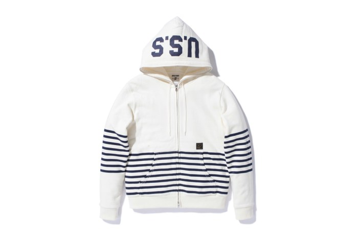 URSUS BAPE SWEAT HOODED FULL ZIP