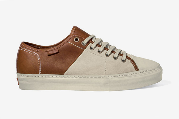 vans vault priz laced lx two tone