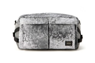 White Mountaineering x Porter DIGITAL CAMO CORDUROY WAIST BAG