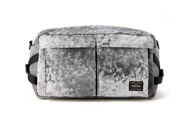 White Mountaineering x Porter DIGITAL CAMO CORDUROY WAIST BAG