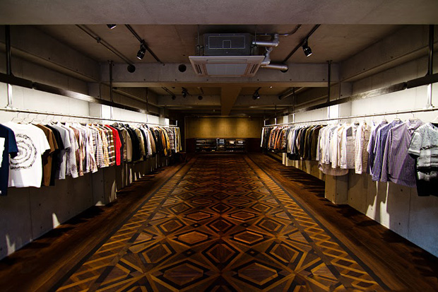 White Mountaineering Tokyo Store Further Look