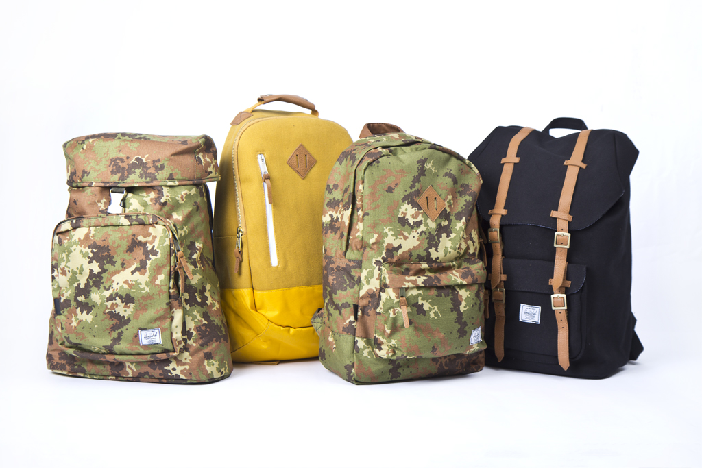 Win a Collection of Four Backpacks from Herschel!